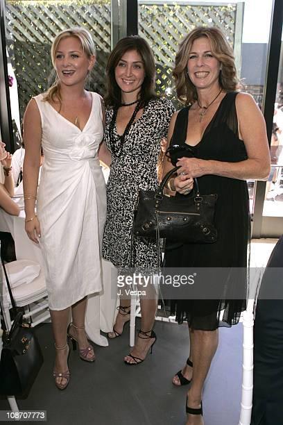 Jessica Capshaw, Sasha Alexander and Rita Wilson during Diane von Furstenberg Los Angeles Store Opening - Luncheon at Diane von Furstenberg Boutique...