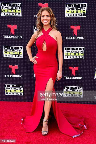 Jessica Carrillo attends Telemundo's Latin American Music Awards at the Dolby Theatre on October 8 2015 in Hollywood California