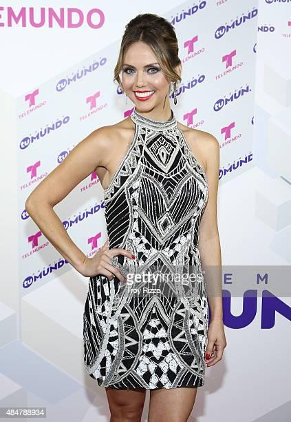 Jessica Carrillo attends Telemundo's 'Premios Tu Mundo Awards' 2015 at American Airlines Arena on August 20 2015 in Miami Florida