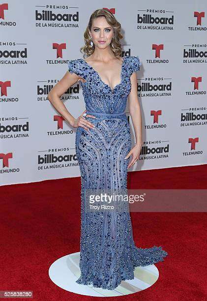 Jessica Carrillo is seen arriving to the Billboard Latin Music Awards at the Bank United Center on April 28 2016 in Coral Gables Florida