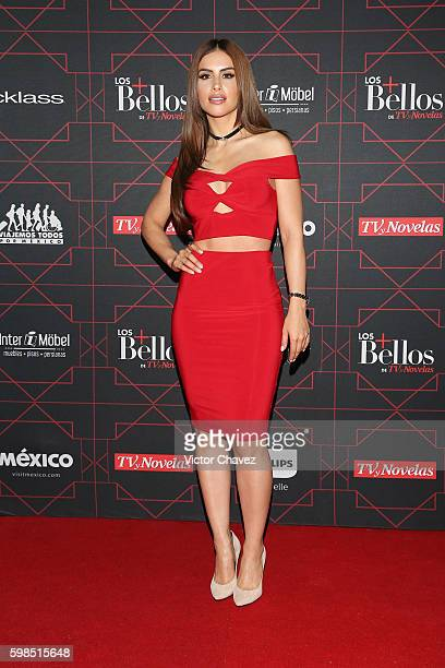 Jessica Cediel attends Los Bellos de TvYNovelas 2016 at Bosque de Chapultepec on August 31 2016 in Mexico City Mexico