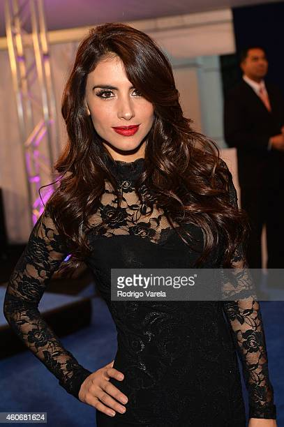 Jessica Cediel attends the inagural Premios Univision Deportes at Univision Studios on December 17 2014 in Miami Florida