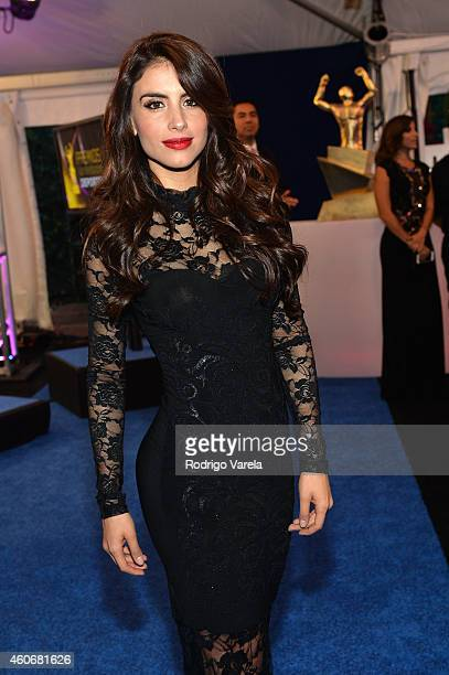 Jessica Cediel attends the inagural Premios Univision Deportes at Univision Studios on December 17 2014 in Miami Florida