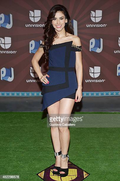 Jessica Cediel attends the Premios Juventud 2014 at The BankUnited Center on July 17 2014 in Coral Gables Florida