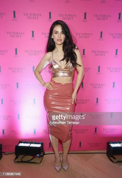 Jessica Cediel attends Victoria's Secret The Incredible Tour on April 25 2019 in Miami Florida
