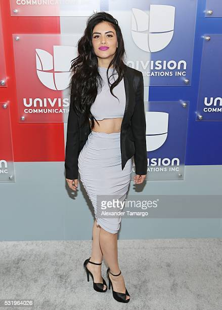 Jessica Cediel is seen arriving at Univision's UpFront 2016 at Gotham Hall on May 17 2016 in New York New York