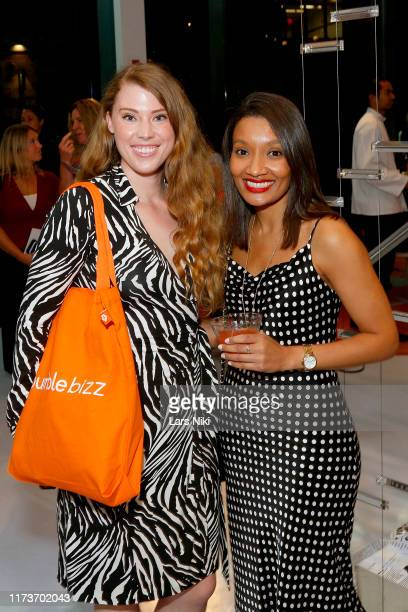 Jessica Chandler and Rachel Lachman attend Women In Charge A Conversation with Diane von Furstenberg and Whitney Wolfe Herd on September 10 2019 in...