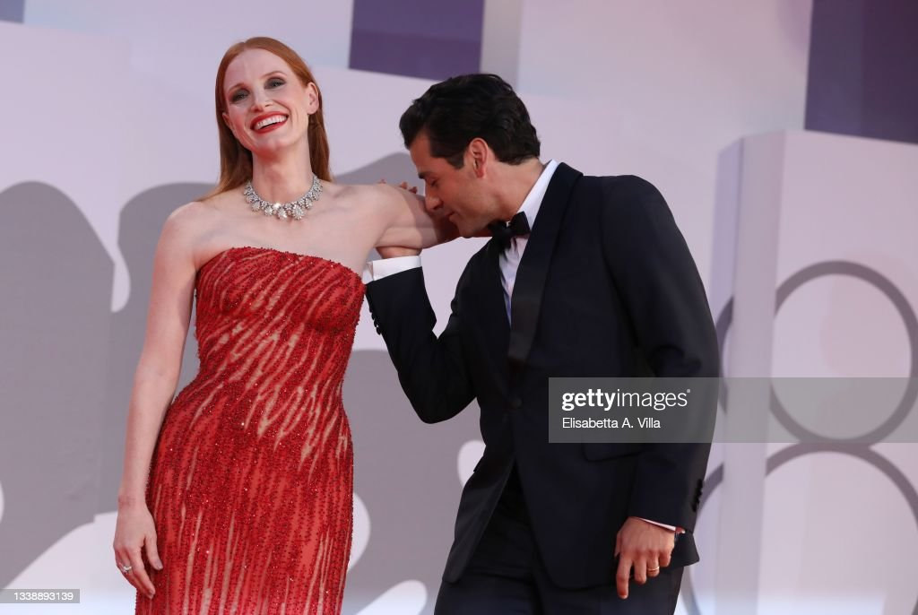 """""""Scenes From a Marriage (Ep. 1 and 2)"""" Red Carpet - The 78th Venice International Film Festival : News Photo"""