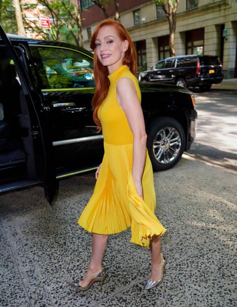 NY: Celebrity Sightings In New York City - September 16, 2021