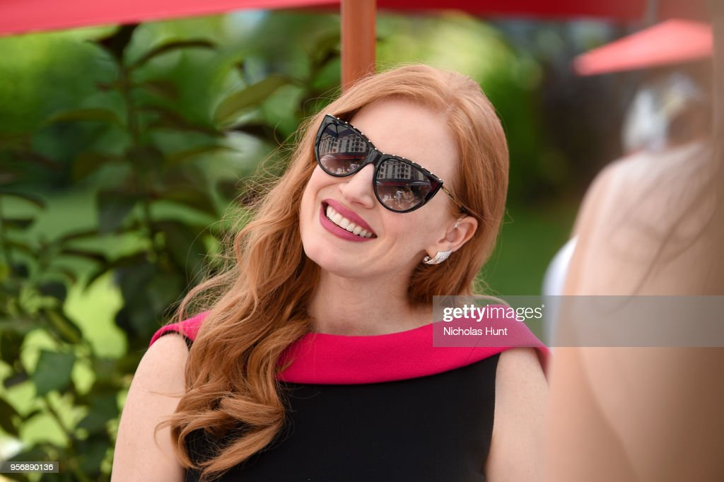 """The Hollywood Reporter And DIRECTV Celebrate """"355"""" At The Grey Goose Terrace - The 71st Annual Cannes Film Festival : News Photo"""