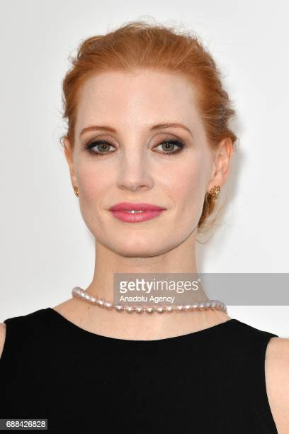 Jessica Chastain attend the Amfar Gala Cannes 2017 at Hotel du CapEdenRoc on May 25 2017 in Cap d'Antibes France on May 25 2017