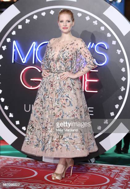 Jessica Chastain attending the 'Molly's Game' UK premiere held at Vue West End on December 6 2017 in London England