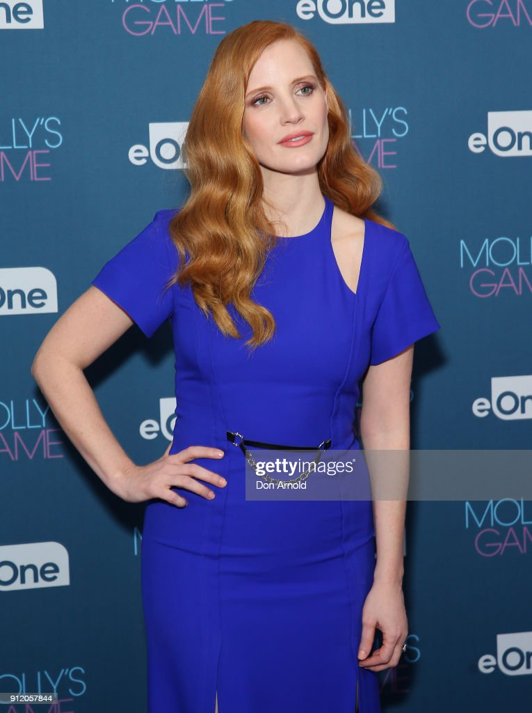 Molly's Game Q & A With Jessica Chastain