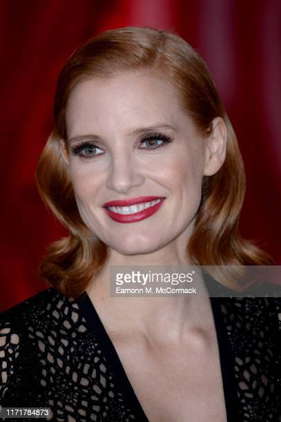 Jessica Chastain attends the IT Chapter Two European Premiere at The Vaults on September 02 2019 in London England