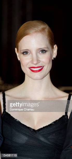 Jessica Chastain attends the Marrakech International Film Festival 2011 Opening Ceremony on December 2, 2011 in Marrakech, Morocco.