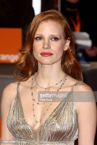 Jessica Chastain Attends The Orange British Academy Film Awards At The Royal Opera House On February