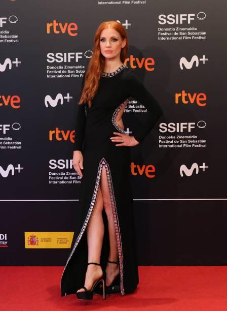 """ESP: """"The Eyes of Tammy Faye/ Los Ojos De Tammy Faye"""" Premiere - 69th San Sebastian Film Festival"""