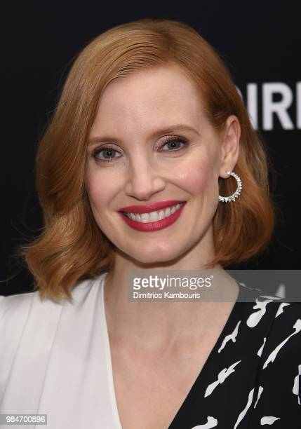 Jessica Chastain attends The Woman Walks Ahead New York Screening at the Whitby Hotel on June 26 2018 in New York City