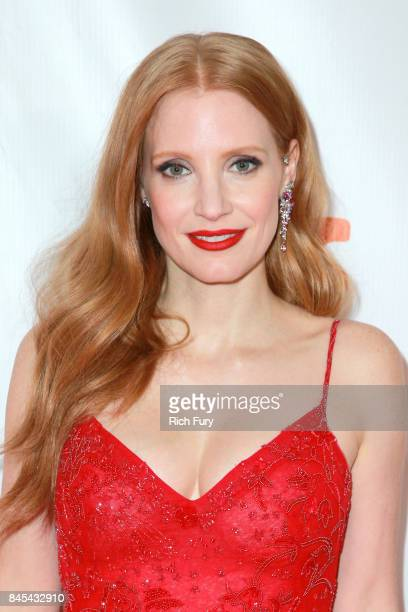 Jessica Chastain attends the Woman Walks Ahead premiere during the 2017 Toronto International Film Festival at Roy Thomson Hall on September 10 2017...