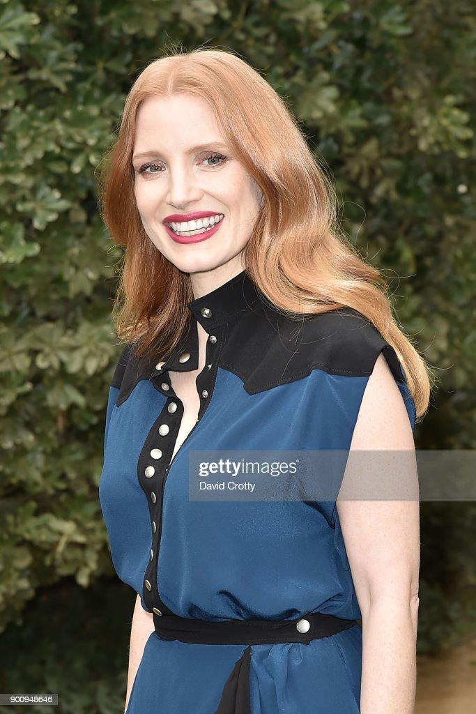 Jessica Chastain attends Variety's Creative Impact Awards & '10 Directors To Watch' at the 29th Annual Palm Springs Film Festival on January 3, 2018 in Palm Springs, California.