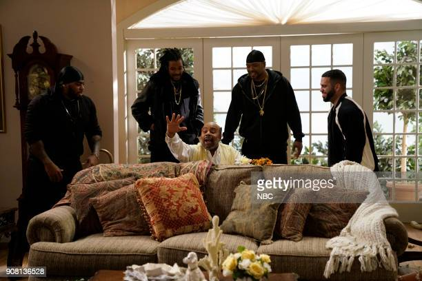 LIVE Jessica Chastain Episode 1736 Pictured Kenan Thompson as Uncle Phil Method Man during Fresh Prince on Saturday January 20 2018