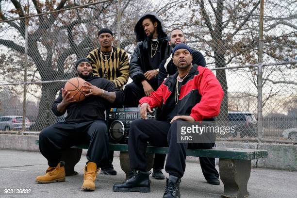 LIVE 'Jessica Chastain' Episode 1736 Pictured Method Man during 'Fresh Prince' on Saturday January 20 2018
