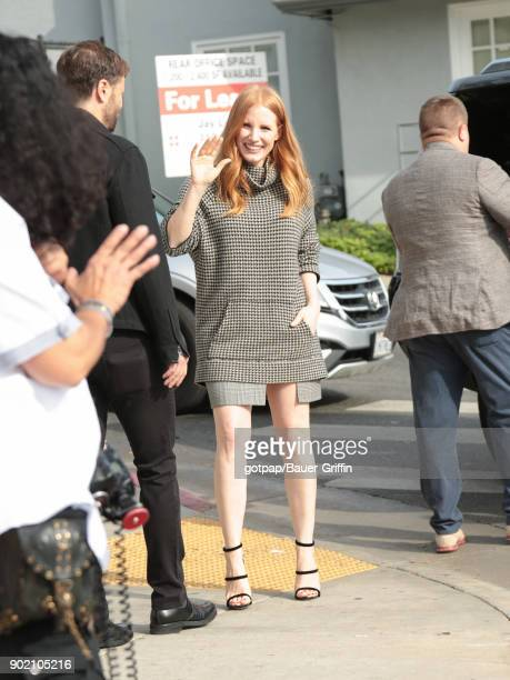 Jessica Chastain is seen on January 06, 2018 in Los Angeles, California.