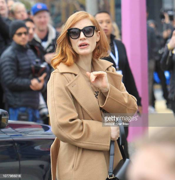 Jessica Chastain is seen on January 5 2019 in Los Angeles CA