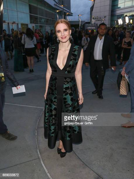 Jessica Chastain is seen on March 27 2017 in Los Angeles California