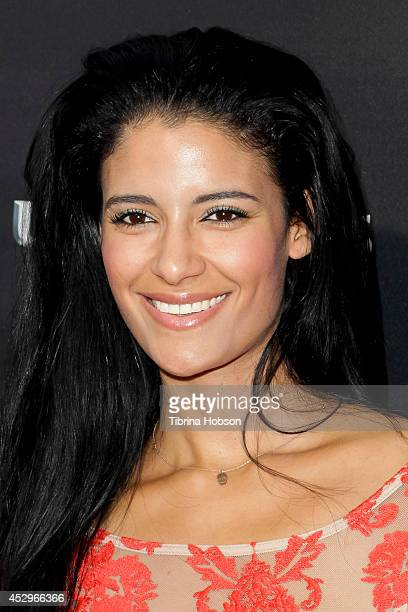 Jessica Clark attends the Weinstein Company short films presented by Lexus at Regal Cinemas LA Live on July 30 2014 in Los Angeles California