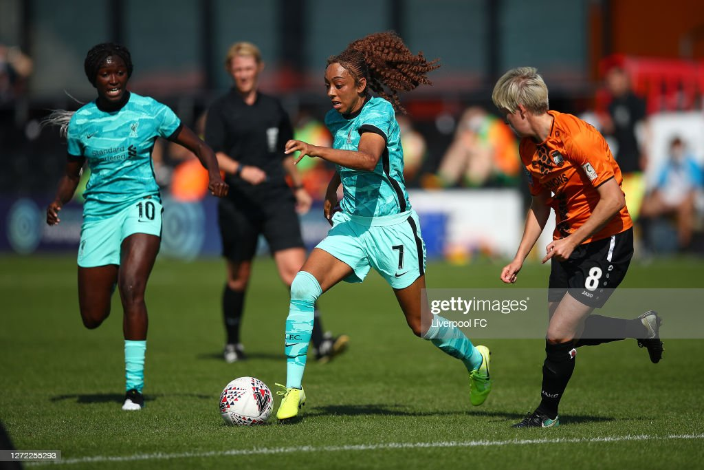 London Bees v Liverpool Women: FA WSL 2 : Nachrichtenfoto