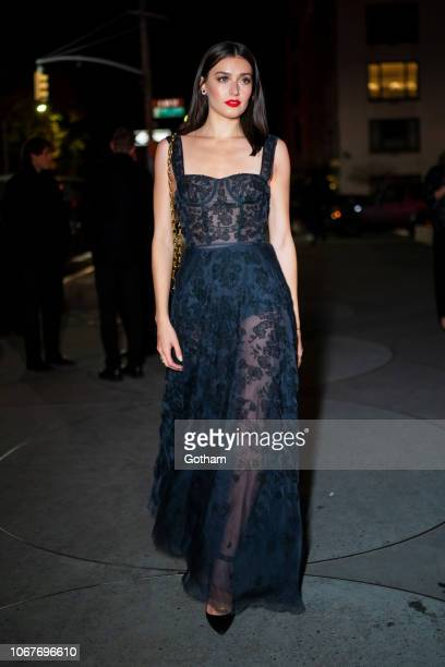 Jessica Clements attends the 2018 Guggenheim International Gala preparty in the Upper East Side on November 14 2018 in New York City