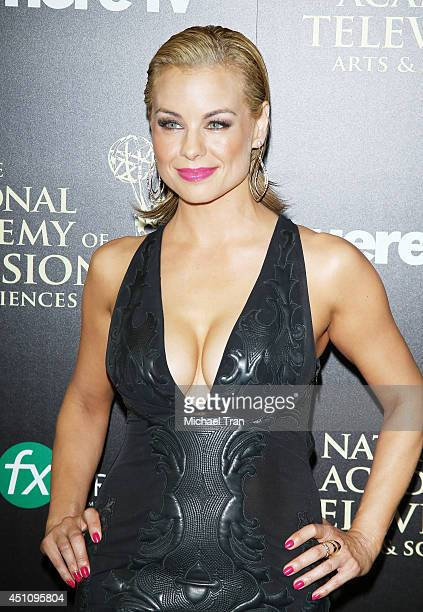 Jessica Collins arrives at the 41st Annual Daytime Emmy Awards held at The Beverly Hilton Hotel on June 22 2014 in Beverly Hills California