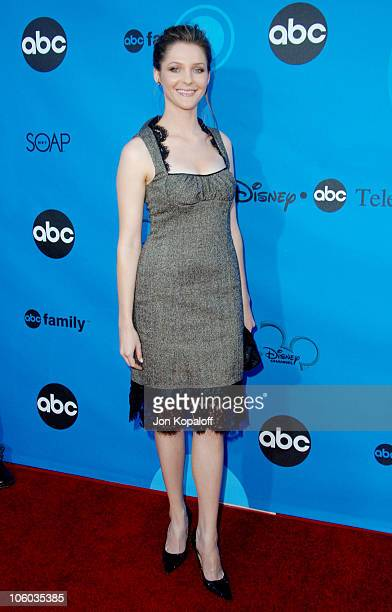 Jessica Collins during ABC All Star Party 2006 Arrivals at Rose Bowl in Pasadena California United States
