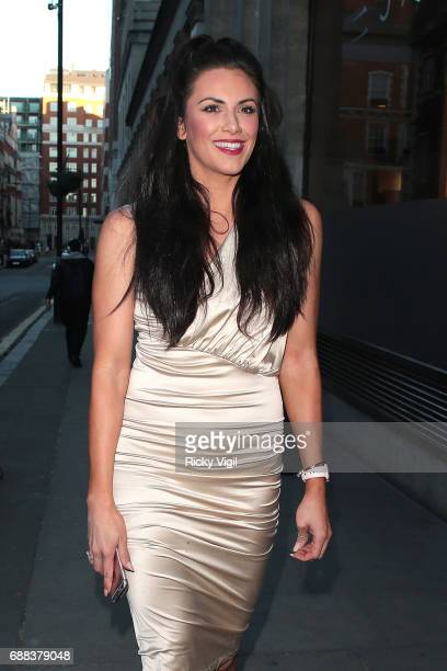 Jessica Cunningham attends Caudwell Children Butterfly Ball at Grosvenor House on May 25 2017 in London England