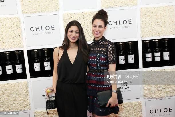 Jessica Damouni and Hana Chamoun attend the 2018 Tribeca Film Festival awards night after party on April 26 2018 in New York City