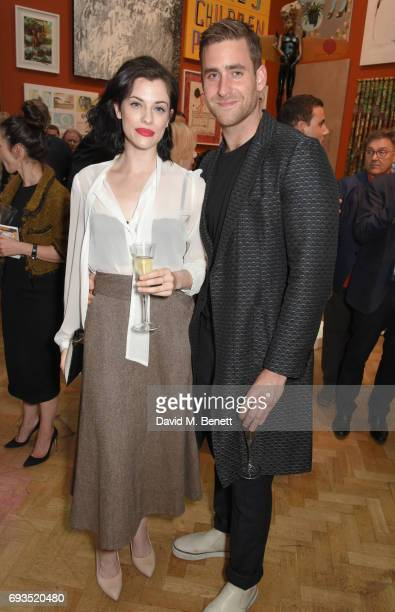 Jessica de Gouw and Oliver JacksonCohen attend the Royal Academy Of Arts Summer Exhibition preview party at Royal Academy of Arts on June 7 2017 in...