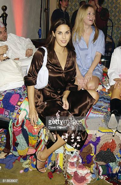 Jessica De Rothschild at a pyjama party held to raise funds for Everyman The Institute of Cancer Research's male cancer awareness campaign at the...