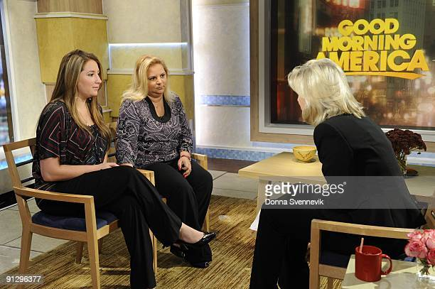 AMERICA Jessica Del Rocco the ex girlfriend of the lab technician accused in the murder of Yale graduate student Annie Le speaks with Diane Sawyer on...