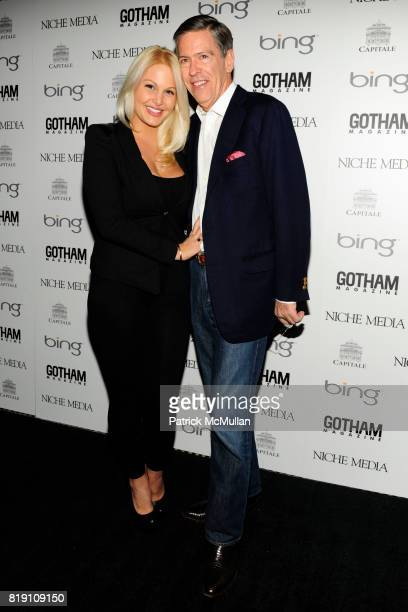 Jessica DeMarco and Steven Tanger attend ALICIA KEYS Hosts GOTHAM MAGAZINES Annual Gala Presented by BING at Capitale on March 15 2010 in New York...