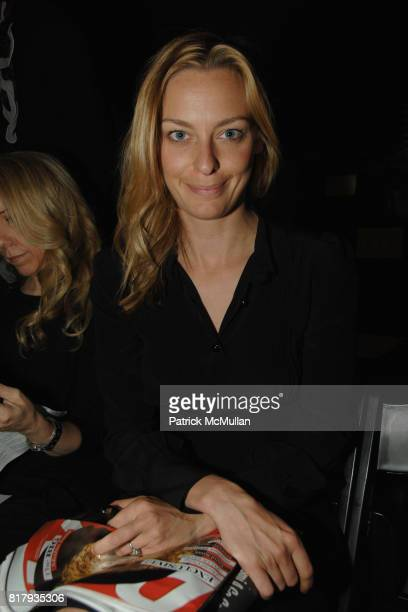 Jessica Diehl attends PRABAL GURUNG Spring 2011 Fashion Show at The Studio at Lincoln Center on September 11 2010 in New York City