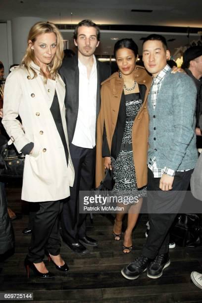 Jessica Diehl Jamie Johnson Bonnie Morrison and Richard Chai attend BARNEYS NEW YORK Celebrates RICHARD CHAI BEN JONES TShirt collaboration to...