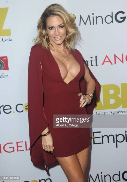 Jessica Drake arrives for XBiz's RISE Performer Appreciation Event held at 1 Oak on November 15 2017 in West Hollywood California