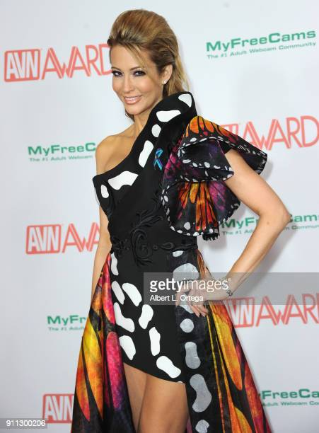 jessica drake attends the 2018 Adult Video News Awards at the Hard Rock Hotel Casino on January 27 2018 in Las Vegas Nevada