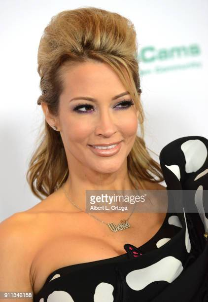 jessica drake attends the 2018 Adult Video News Awards held at Hard Rock Hotel Casino on January 27 2018 in Las Vegas Nevada