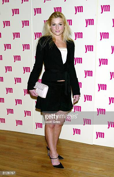 Jessica Dunphy arrives at the 5th Annual YM MTV Issue party at Spirit March 24 2004 in New York City