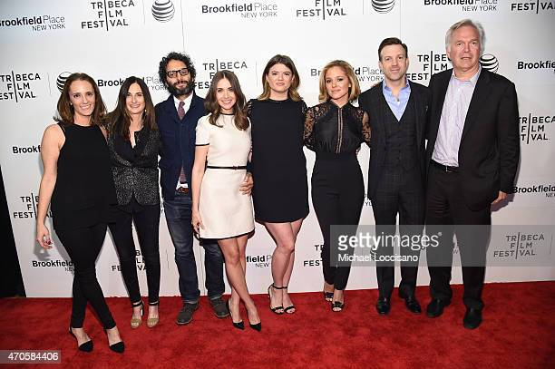 Jessica Elbaum Jason Mantzoukas Alison Brie Leslye Headland Margarita Levieva and Jason Sudeikis attend the premiere of 'Sleeping With Other People'...
