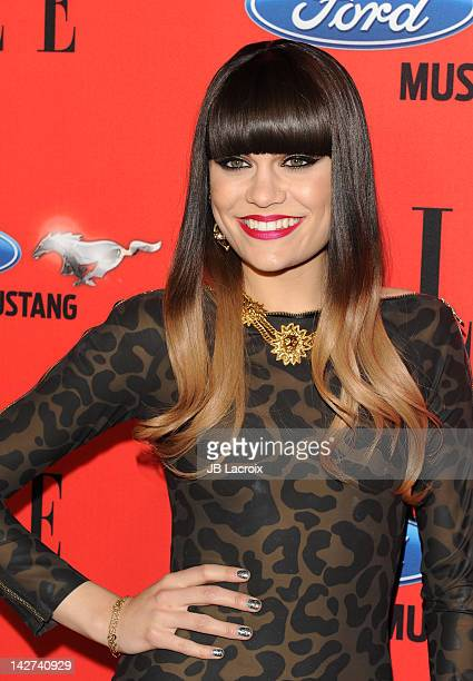 Jessica Ellen Cornish aka Jessie J attends 3rd Annual ELLE Women In Music Event at Avalon on April 11 2012 in Hollywood California