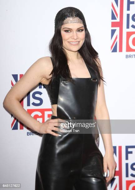 Jessica Ellen Cornish aka Jessie J attends The GREAT Film Reception to honor the British nominees of The 89th Annual Academy Awards held at Fig &...
