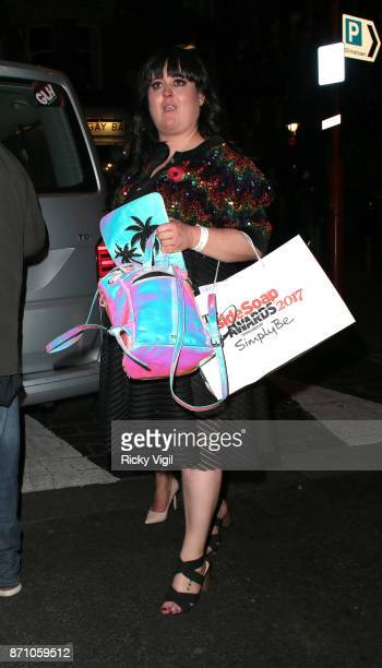 Jessica Ellis attend the Inside Soap Awards held at The Hippodrome on November 6 2017 in London England